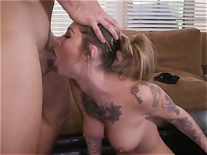 tatted ultra-cutie Gets romped