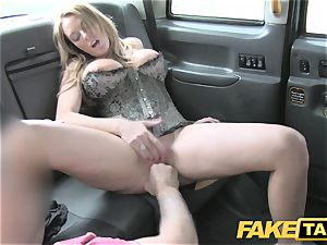 fake cab stiff orgy and butt licking before facial jizz shot
