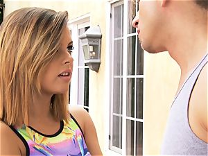 Keisha Grey gets active with her BFFs guy