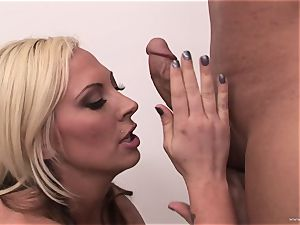 luxurious Skyler Price throws off her naughty manager' stiffy