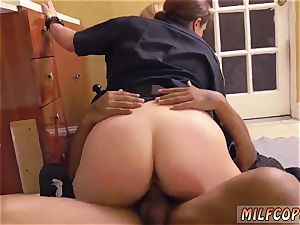Russian mummy assfuck and blondie amateur splooge pie dark-hued male squatting in home gets our