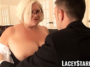 LACEYSTARR - subjugated GILF caboose inserted by Pascal white