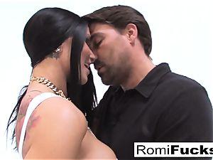 hardcore lovemaking with pornography starlet Romi Rain