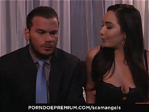 SCAM ANGELS - Kat Dior and Morgan Lee super-hot threesome