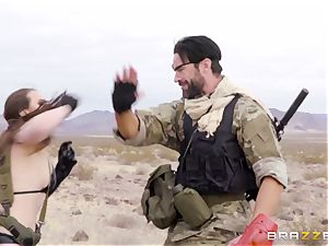 metal Gear Solid five assfuck porn parody with ultra-kinky black-haired Casey Calvert