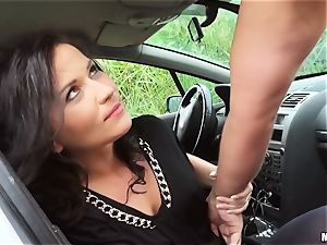 Niki jummy picked up and fucked outside