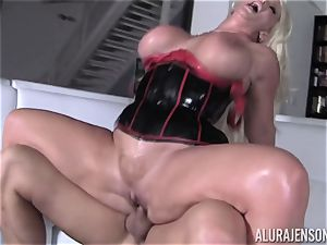kinky Alura Jenson showcases her spouse a new side of her