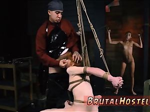 bondage mouth wedged ball-gagged and bdsm dominatrix gonzo gorgeous young damsels, Alexa Nova and