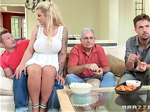 crazy stepmom Ryan Conner is filled by her stepson