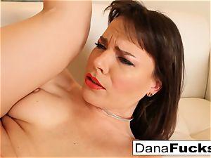 coochie idolize and eating of Dana DeArmond's raw fuck-hole