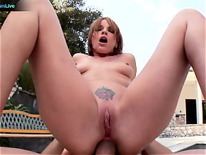 Dana DeArmond double intrusion into her tight puss