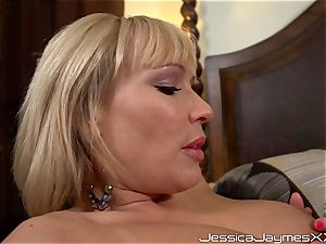 rope on penetrating lesbians with Jessica Jaymes, Austin Taylor and Mellanie Monroe