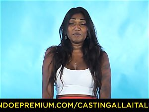 casting ALLA ITALIANA - Indian honey gets hefty man meat anal invasion