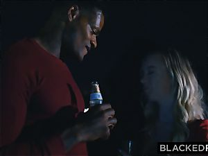 BLACKEDRAW boyfriend with cuckold dream shares his blonde gf