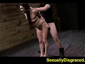 strapped for conformity Stella May orgasms