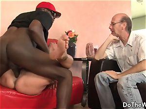 dark-hued stud pokes wifey Nikita Denise