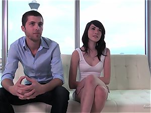 Emily Grey and her fellow supply a audition internal cumshot