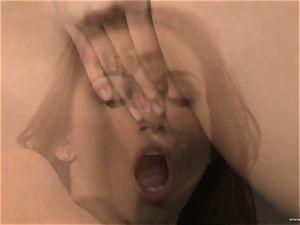 torturing Celeste starlet likes finger humping her slit