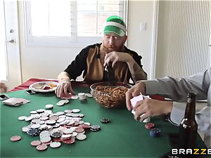 Sarah Jessie boinking her hubbies poker acquaintance