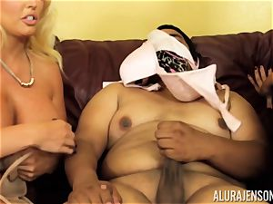 Alura Jenson gets a bit horny and starts to smack