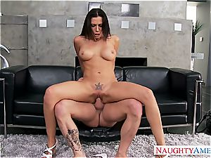 Irresistible Rachel Starr has great cupcakes and penetrates like a professional
