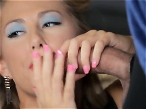 Penny Pax and Carter Cruise service a massive knob
