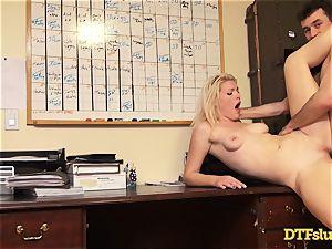 anal invasion ravaged Ella Nova by hung James Deen