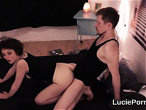 amateur lezzy nymphos get their stretch fuckboxes gobbled and reamed