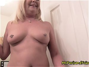 mummy Plays with Herself The Has pee pee have fun Time