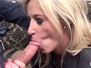 LaCochonne - blond French mature amateur has rough hump