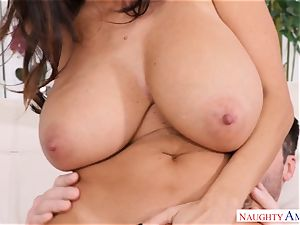 Ava Addams nailed on the couch