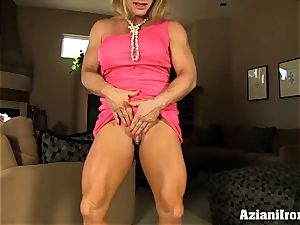 Buff doll rails sybian and blows a load rock hard