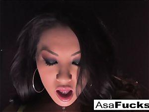 Asa Akira demonstrates Off Her astounding assets