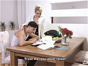 horny INLAWS - slender Czech light-haired super hot drill with stepson