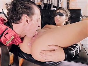 Abella Danger gets penetrated by a horny hard gladiator