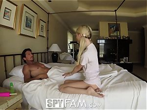 SpyFam Step daughter-in-law Piper Perri boink and internal cumshot