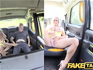 fake cab meaty bra-stuffers blonde Michelle Thorne