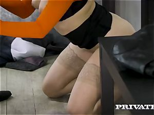 Lonely doll Mia Malkova wants enjoy and affection in the city bus