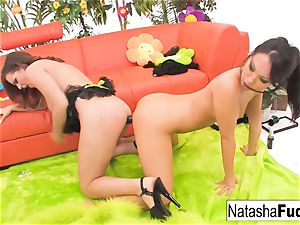 Natasha's 1st anal invasion with Asa