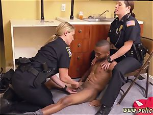 older german cougar anal ebony male squatting in home gets our cougar officers squatting on