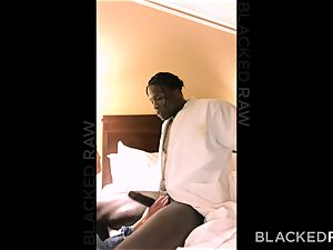 BLACKEDRAW insatiable nubile luvs To Cuck Her beau With bbc
