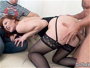 Cuck sees wife Irina Pavlova Have fuck-a-thon