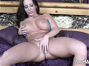 super-fucking-hot Blooded milf Blows and pulverizes a huge man-meat
