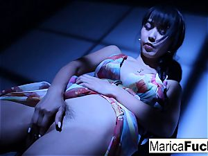 japanese porn industry star Marica gets nude