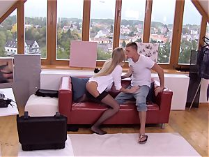 MY crazy ALBUM - casting penetrate with super-hot Russian milf