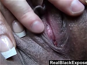 throated In Public By dark-hued woman