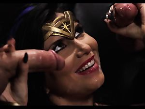 Justice League xxx part 5 - Hero fuckfest with Romi Rain