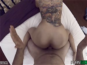wild stunner Yurizan Beltran shagged deep in her sweet twat pie pudding point of view style