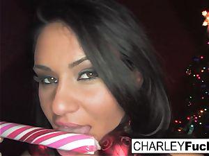 Charley Gets Some Christmas salami