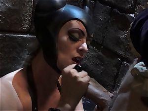 Evil queen Stormy Daniels plumbs the beautiful prince